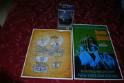 Disney Haunted Mansion 3-pk -- All Signed By Bob Gurr. 2 Posters + Doom Buggy