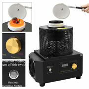2912℉ Medium Frequency Induction Furnace Metal Melting Furnace Smelt Iron Copper
