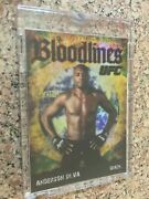 2009 Topps Ufc Round 2 Bloodlines Blank Back - Anderson Silva - 1/1 Topps Vault