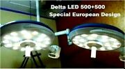 Led Operation Theater Surgical Lamp Surgery Special Features Delta Led 500 + 500