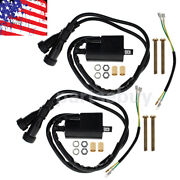 2pcs Ignition Coil For Points And Electronic Ignition Systems Replace 21121-1174