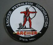 Archer Petroleum Corp Embroidered Iron On Uniform-jacket Patch 3 New