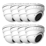 5mp/4k Lite Sony Starvis Cmos Tvi 4in-one 2.8-12mm Zoom Security Camera Osd 8pcs