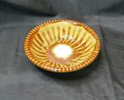 Richie Watts Good Earth Pottery Mississippi Stoneware Bowl Brown White Made Usa