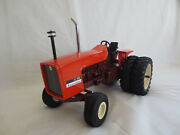 Ertl 1/16 Scale Allis Chalmers 7030 Maroon Belly And Duals Farm Toy Tractor