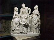 John Rogers Group Of Statuary The Mock Trial