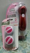 Elite Essential Power Brush Advanced Cleansing System Extra Brush Heads Beauty