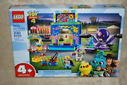 Lego New 10770 Toy Story 4 Buzz And Woodyand039s Carnival Mania Factory Sealed Box Nisb