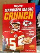Case And Super Bowl Mvp Patrick Mahomes Magic Crunch Cereal Hyvee In Display Mint