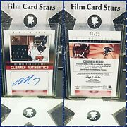 2004 Fleer E-x Nfl Jersey Autograph Michael Vick 1/22 1st Clearly Authentic 1/1