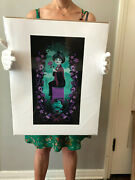Jeff Granito Rest In Pieces Print - Haunted Mansion - Stretching Portrait