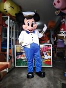 For Rent Mickey Mouse Sailor Nautical Mascot Costume Party Birthday Halloween