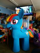 For Rent My Little Pony Rainbow Dash Unicorn Mascot Costume Character Party