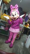 Minnie Mouse And The Roadster Racers Mickey Mascot Costume Party Character Suit