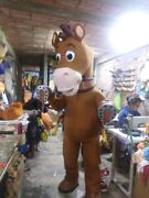 Bullseye Woody Horse Toy Story Mascot Costume Party Character Halloween Cosplay