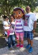 Doc Mcstuffins Mascot Costume Halloween Party Character Birthday Cosplay Adult