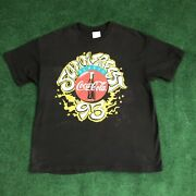 Vtg 93 Coca Cola Summer Fest 2-sided Rap Tee Ll Cool J Naughty By Nature T Shirt