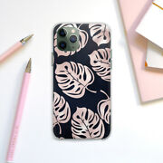 Iphone Xs Xr Protective Case Tropical Leaves Iphone 11 12 Pro Max Monstera Art