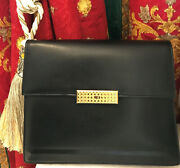Christian Dior Gold Kelly Style Vintage Bagcdhaute Couturefirst Class Zustand