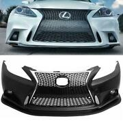 For 2006-2013 Lexus Is250 Is350 C To F-sport Front Bumper Conversion 2is To 3is