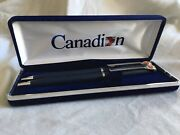 Canadian Airlines Ballpoint Pen And Mechanical Pencil Set In Original Box