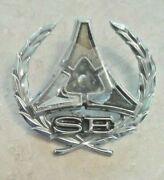 3613823 1970 1971 1972 Charger And Challenger Se Sail Panel Emblem. Vg Conditi