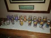 Lot Of 17 Vtg Mcdonald's Collectors Series Glass Tumblers + Mayor Mccheese More