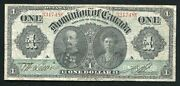 Dc-18a 1911 1 One Dollar Dominion Of Canada Banknote Very Fine