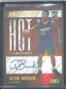 2015-16 Panini Hoops Hot Signatures Rookie Autograph Hs-db Devin Booker