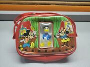 Vintage Disney Mickey Mouse Small Bag Coin Purse Kids Minnie Donald Mickey