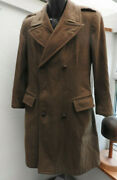Military Ww2 British Warm Weather Great Coat Uniform 1945 Dated Officers 5470