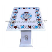 Marble Coffee Table Marble Inlay Sofa Table Outdoor Garden Furniture