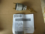 E-z Go X04 Key Switch With Two Keys 2 Terminal For Gas Or Electric Carts New