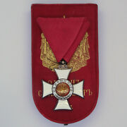 Bulgaria Medal Order Of Saint Alexander 5th Class With Case Rare Rothe Type