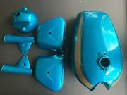 Honda Cb450 K2 Lacquer Set Complete In Candy Blue Green