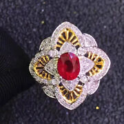 Certified 18k Yell Gold Thailand Marcasite Ring South African Diamonds Unheated