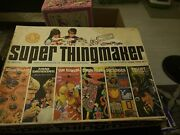1966 Mattel Super Thingmaker Flowers, Fright Factory, Creepy Crawlers, Box Only