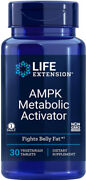 Ampk Metabolic Activator Burns Belly Fat 30 Veg Tablets Life Extension
