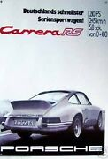 Porsche 911 Carrera Rs 1973 Poster /banner Large 36x52 Inches New