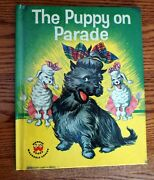 Vintage 1952 Wonder Book The Puppy On Parade By Virginia Grilley