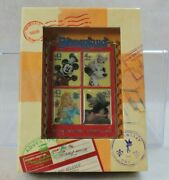 Disney Dlr Le 500 Jumbo Pin Usps First Day Stamp Issue Aurora 101 Dalmatians