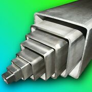 Grade 316 Stainless Steel Square Box Section  Any Size  Any Length