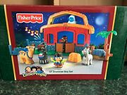 Fisher Price Little People Christmas Lil' Drummer Boy 2006 🐴 🥁 🐪 🐑