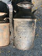 1vintage Roberts Dairy Omaha Milk Can 20 Gal Local Pick Up Only 24tall W/ Lid