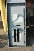 Ge Aqf3302abx 225 Amp Main Breaker Panel 30 Circuit 208v 3 Phase Indoor Used