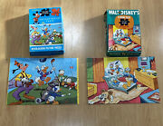 Lot Of Two Vintage Jaymar Puzzles Disney Mickey Mouse Club ,tv Picture Puzzle.