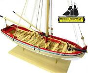 1/4 Scale Wooden Sailboat Ship Kits Home Decor Model Handmade Boat Toy Gift