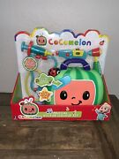 Cocomelon Musical Doctor Checkup Set Case 4 Play Pieces Stethoscope Syringe New