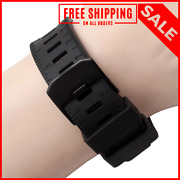 Strap Watch Band Black Rubber Waterproof For Luminox Recon/colormark 23mm Metal