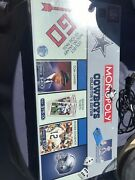 Collectible Dallas Cowboy Monopoly Still In The Package
